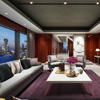 现代沙发,现代简约,现代客厅,现代桌子,现代装饰品