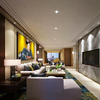 中式沙发,中式客厅,新中式,中式桌子,中式台灯