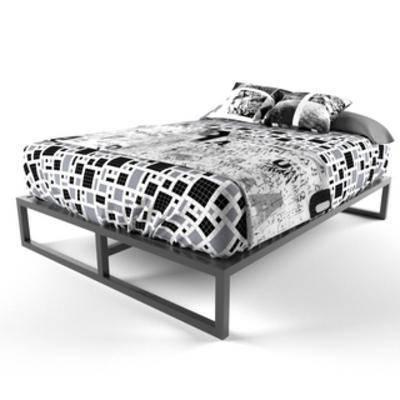 北欧简约, 双人床, 北欧床, 床