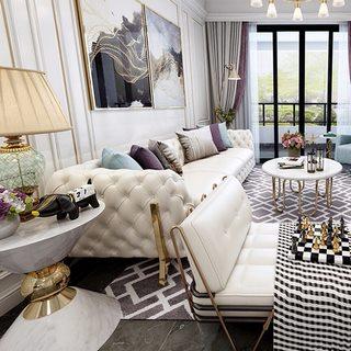 沙发茶几,欧式沙发,欧式客厅,欧式台灯,欧式简约
