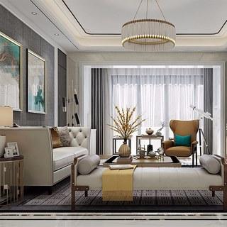 沙发茶几,欧式沙发,欧式客厅,欧式简约,欧式吊灯