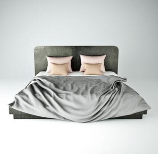 床,北欧床,双人床,北欧简约
