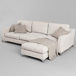 现代沙发,多人沙发,现代简约