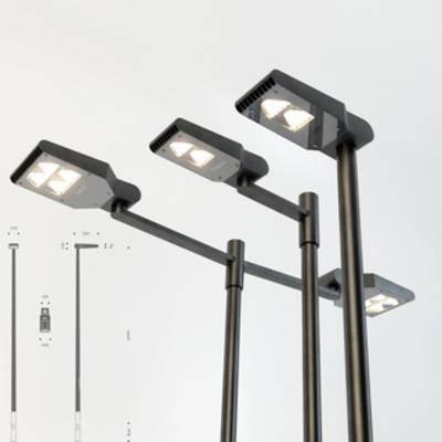 现代路灯, 路灯, 现代简约, 灯饰