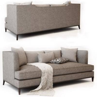 现代简约, 多人沙发, 沙发, 现代沙发