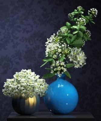 现代植物, 现代花瓶, 花瓶, 现代简约, 植物, 现代