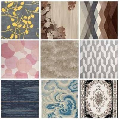 地毯, 贴图