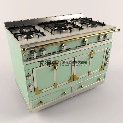 灶, 现代集成灶, 现代电器, 电器