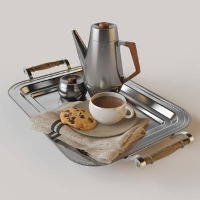 现代餐具, 现代食品, 现代简约