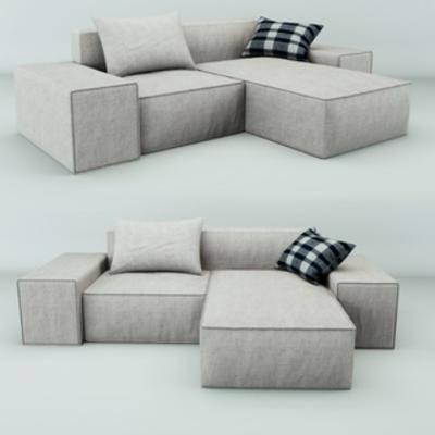 北欧简约, 北欧沙发, 多人沙发, 沙发
