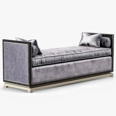 欧式床尾凳, 欧式简约, 床尾凳