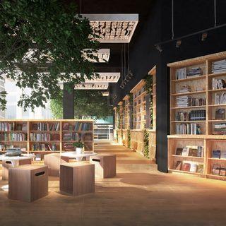 现代书店图书馆