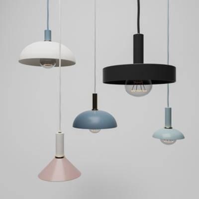 北欧吊灯, 北欧简约, 灯饰, 吊灯