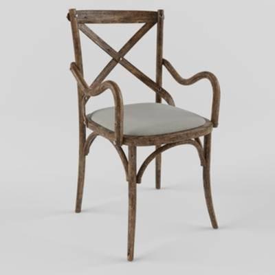 田园椅, 美式单人椅, 单人椅, 美式