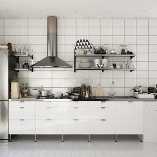 北欧简约橱柜厨具组合