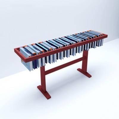 现代书架, 书架, 现代桌子, 桌子