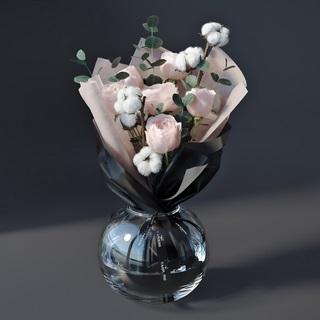 现代花瓶植物