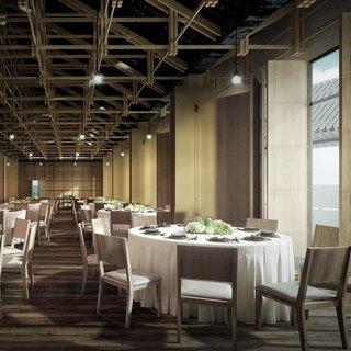 现代吊灯,桌椅组合,现代简约,现代餐厅,餐具组合