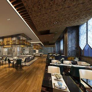 桌椅组合,现代简约,现代餐厅,餐具,现代陈设品