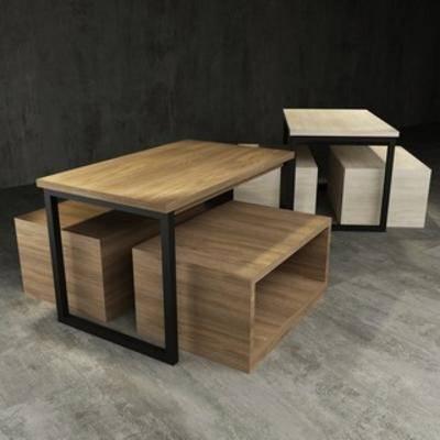 现代, 桌子, 茶几, 现代桌子, 现代茶几