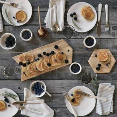 现代餐具, 餐具组合, 食品, 现代简约