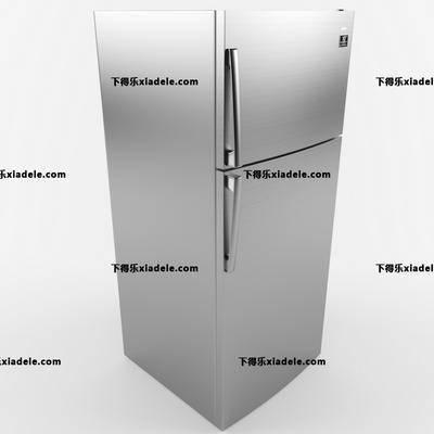 现代冰箱, 冰箱电器, 电器, 现代简约