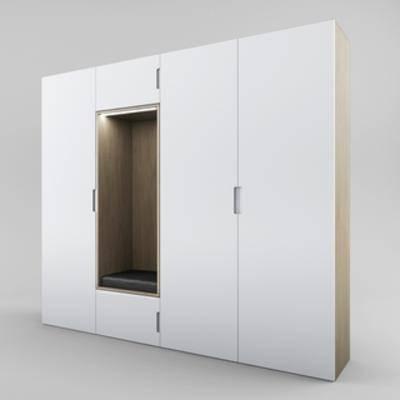 现代衣柜, 现代简约, 衣柜
