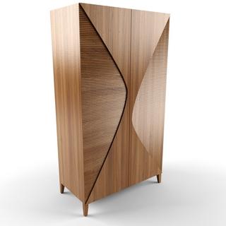 现代简约衣柜边柜置物柜