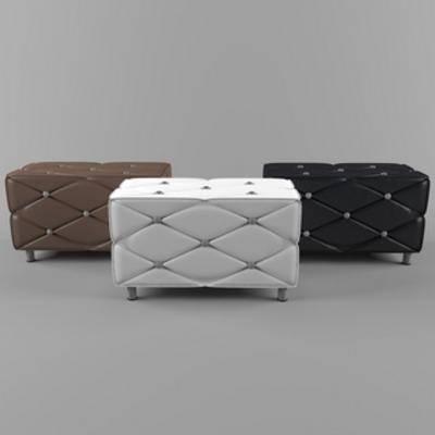 皮革沙发凳, 现代千亿国际app 娱乐网站, 现代沙发凳, 沙发, 沙发凳