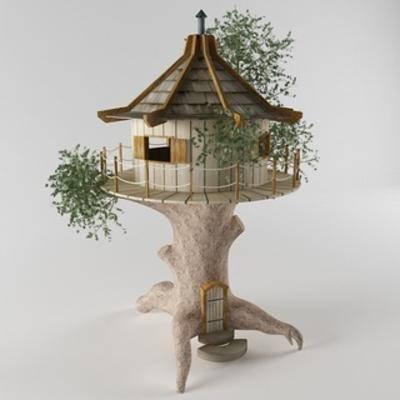 现代树屋, 现代陈设品, 陈设品