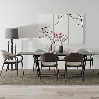 北欧简约餐桌椅组合