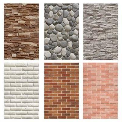 墻面, 磚墻, 貼圖