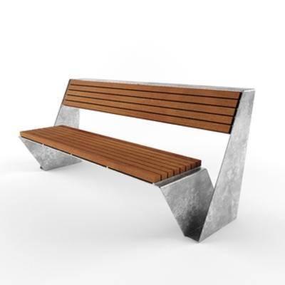 现代公共椅, 公共椅, 现代简约, 椅子