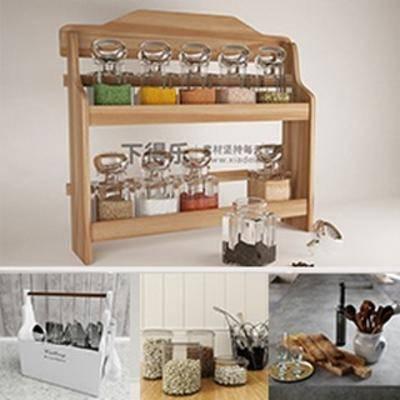模型合集, 厨房用品, 模型下载