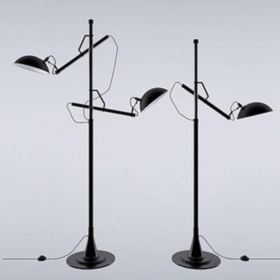 灯, 现代落地灯, 现代简约, 落地灯, 灯饰, 扮家家-积分兑换300套模型【一】