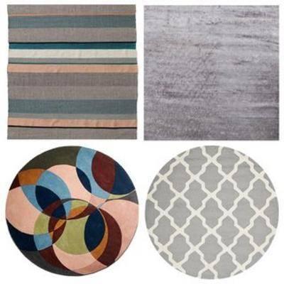 现代地毯贴图, 地毯, 贴图, 现代简约