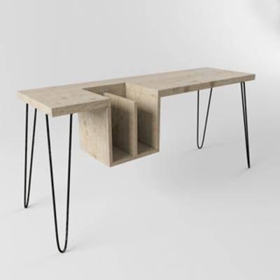 现代桌子, 书桌, 桌子, 现代简约