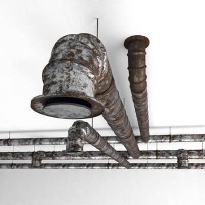 通风管道, 构件, 工业风格
