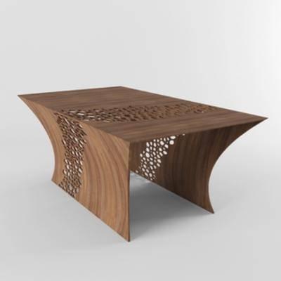 现代桌子, 桌子, 现代简约