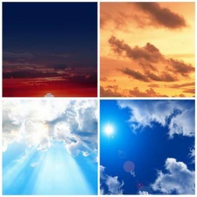 天空贴图, 外景贴图, 天空, 贴图