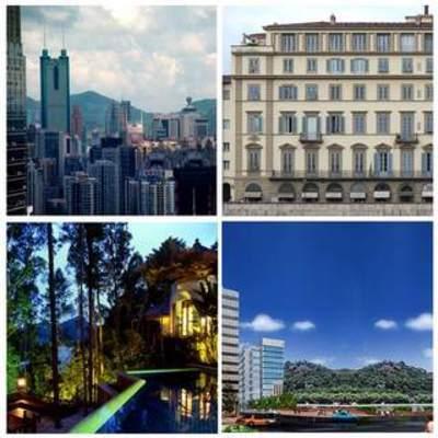 城市贴图, 环境贴图, 外景贴图, 环境, 贴图