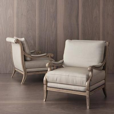 原创模型, 现代简约, 原创, 单人沙发椅, 沙发椅