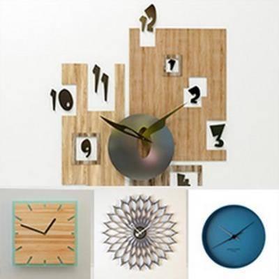 模型合集, 时钟, 现代简约