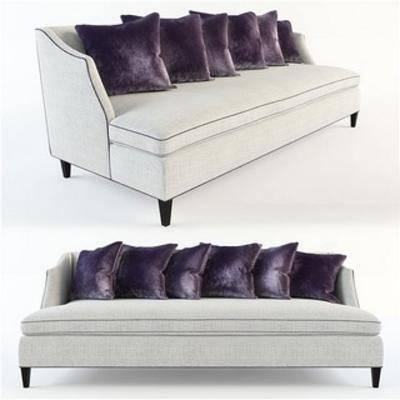 现代多人沙发, 现代简约, 沙发, 现代沙发