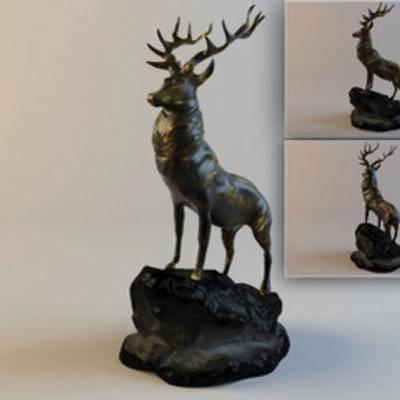 现代, 雕塑, 陈设品, 摆件, 现代陈设品, 现代雕塑