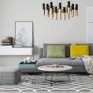 沙发茶几,吊灯,北欧沙发,组合,装饰画,北欧简约