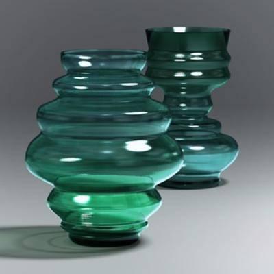 现代花瓶, 玻璃瓶, 花瓶, 现代简约