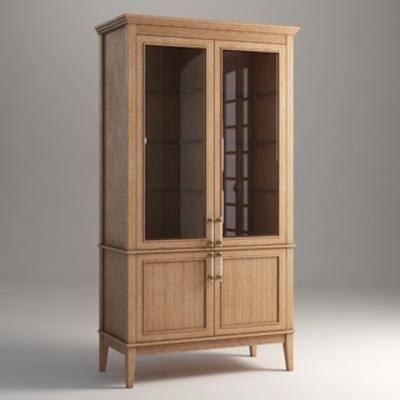 现代置物柜, 置物柜, 现代简约, 装饰柜