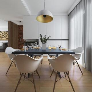 现代简约客厅餐厅