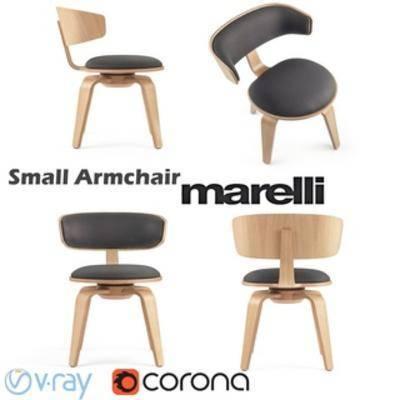 Corona, 单人椅, 北欧, 椅子